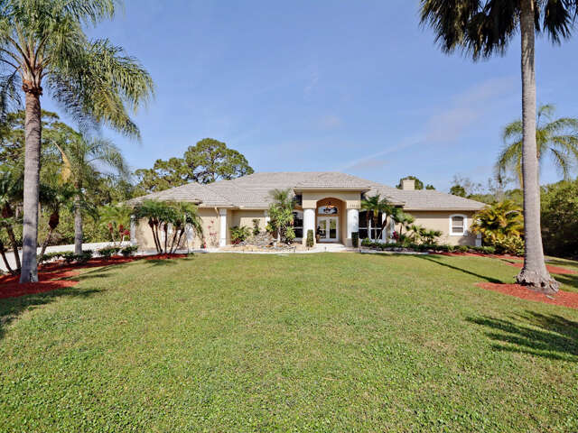 Single Family for Sale at 7860 Saddlebrook Drive Port St. Lucie, Florida 34986 United States