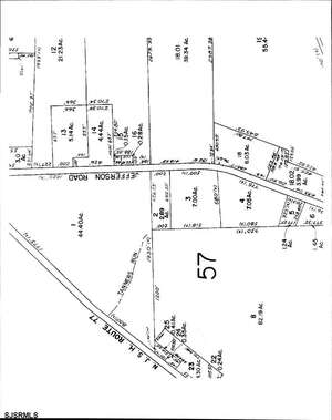 Land for Sale, ListingId:42000283, location: 0 Jefferson Road Upper Pittsgrove Twp 07866