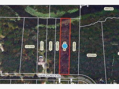 Home Listing at 0 HAINES CREEK ROAD, LEESBURG, FL