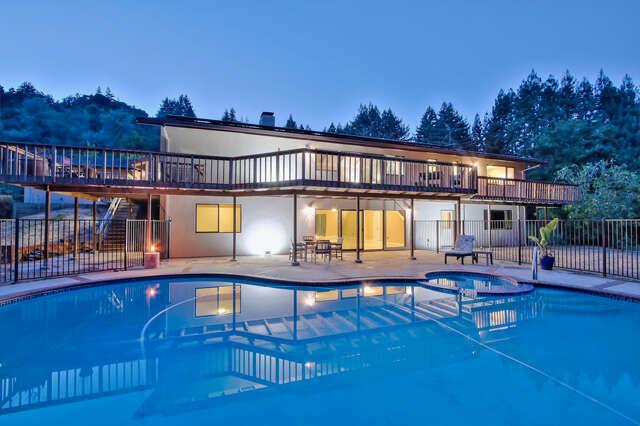 Single Family for Sale at 1015 Vine Hill Road Santa Cruz, California 95065 United States