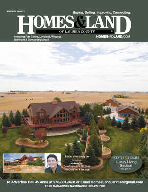 HOMES & LAND Magazine Cover. Vol. 34, Issue 13, Page 6.