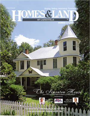 HOMES & LAND Magazine Cover. Vol. 42, Issue 08, Page 5.