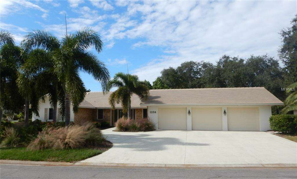 Single Family for Sale at 1236 Yacht Harbor Drive Osprey, Florida 34229 United States