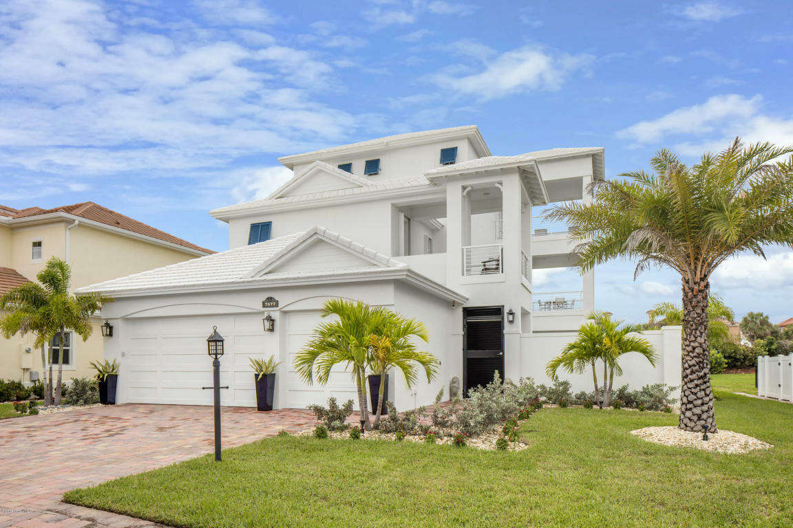 Single Family for Sale at 7677 Kiawah Way Melbourne Beach, Florida 32951 United States