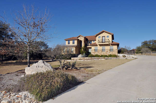 Single Family for Sale at 1112 Barolo Ct New Braunfels, Texas 78132 United States
