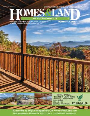 HOMES & LAND Magazine Cover. Vol. 22, Issue 13, Page 7.