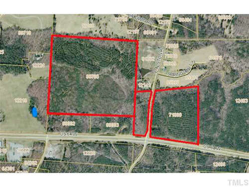 Land for Sale at W Us 64 Highway Pittsboro, North Carolina 27312 United States