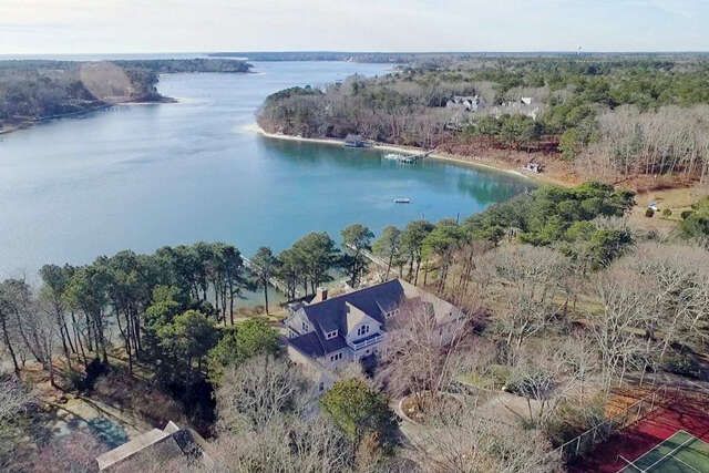Single Family for Sale at 135 Point Isabella Road Cotuit, Massachusetts 02635 United States