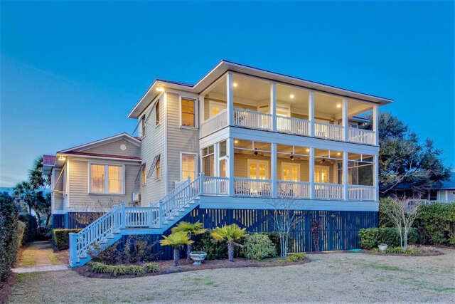 Single Family for Sale at 2500 Palm Boulevard Isle Of Palms, South Carolina 29451 United States