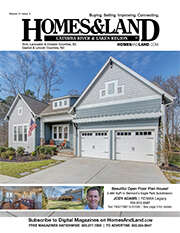 HOMES & LAND Magazine Cover. Vol. 21, Issue 03, Page 3.