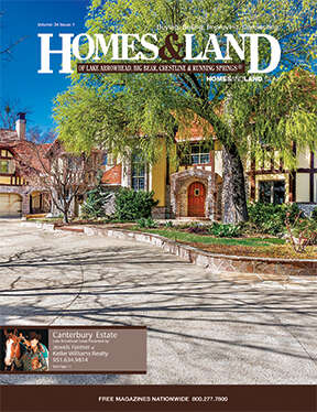 HOMES & LAND Magazine Cover. Vol. 34, Issue 01, Page 4.