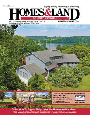 HOMES & LAND Magazine Cover. Vol. 22, Issue 04, Page 01.