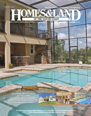 HOMES & LAND Magazine Cover. Vol. 14, Issue 04, Page 13.
