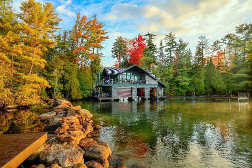 Single Family for Sale at 132-140 Peninsula Way Lake Placid, New York 12946 United States