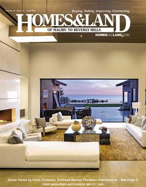 HOMES & LAND Magazine Cover. Vol. 37, Issue 03, Page 2.