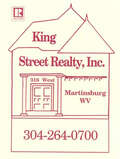 King Street Realty, Inc., Martinsburg WV