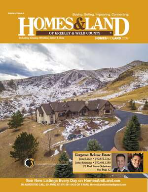 HOMES & LAND Magazine Cover. Vol. 34, Issue 12, Page 15.