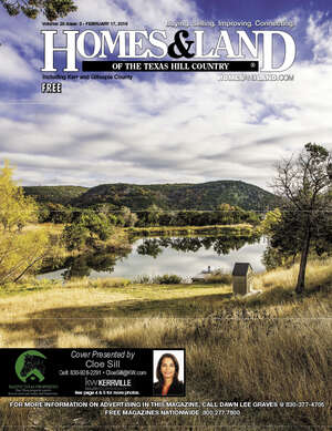 HOMES & LAND Magazine Cover. Vol. 28, Issue 02, Page 5.