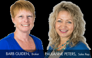 Barb Guiden and Paulanne Peters