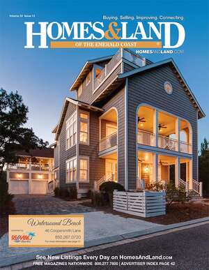 Advertise your real estate business on Homes & Land of The Emerald Coast