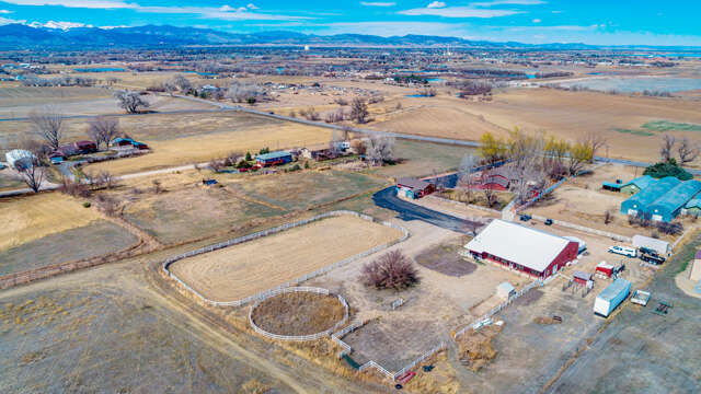 Single Family for Sale at 4116 Highway 402 Loveland, Colorado 80537 United States