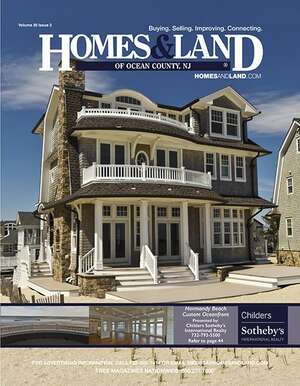 HOMES & LAND Magazine Cover. Vol. 30, Issue 02, Page 44.