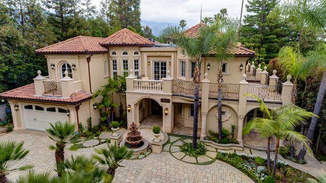 Single Family for Sale at 4428 Woodleigh Lane La Canada Flintridge, California 91011 United States
