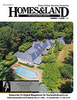 HOMES & LAND Magazine Cover. Vol. 02, Issue 04, Page 11.