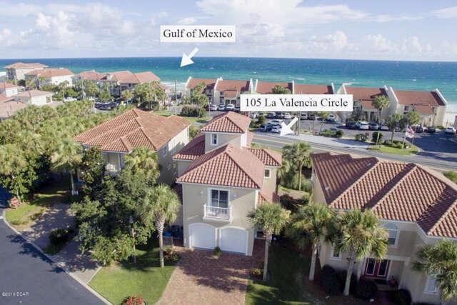 Single Family for Sale at 105 La Valencia Panama City Beach, Florida 32413 United States