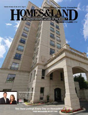 HOMES & LAND Magazine Cover. Vol. 03, Issue 03, Page 9.