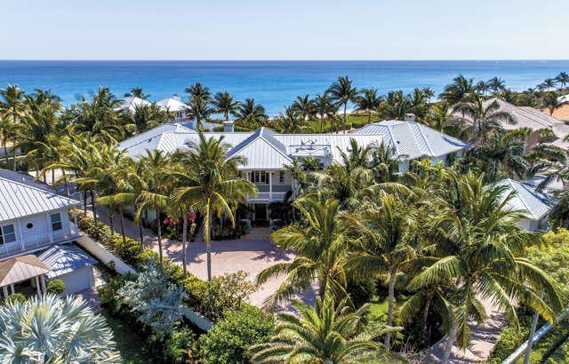 Single Family for Sale at 6017 Old Ocean Boulevard Ocean Ridge, Florida 33435 United States