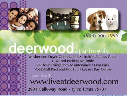 Apartments for Rent, ListingId:1513894, location: 2801 Calloway Road Tyler 75707