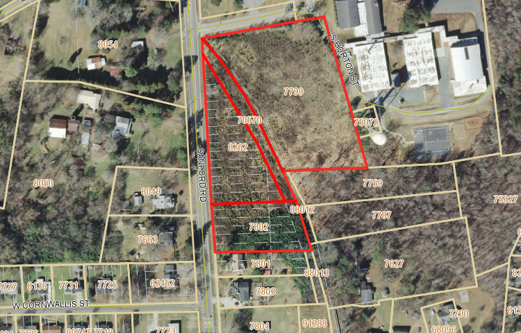 Investment for Sale at Tbd Sanford Rd Pittsboro, North Carolina 27312 United States