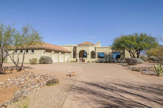 Single Family for Sale at 8521 S Triangle O Ranch Place Vail, Arizona 85641 United States