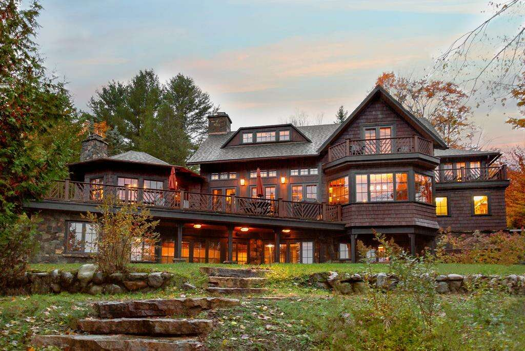 Single Family for Sale at 18 Chipmunk Lane Lake Placid, New York 12946 United States