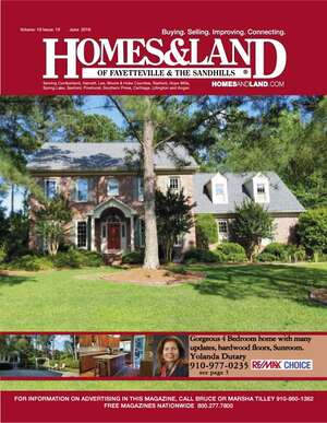 HOMES & LAND Magazine Cover. Vol. 19, Issue 10, Page 5.