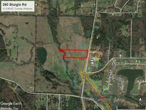 Land for Sale, ListingId:48191329, location: 260 Sturgis Road Conway 72034
