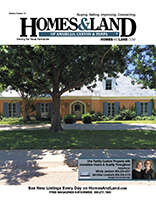HOMES & LAND Magazine Cover. Vol. 08, Issue 13, Page 6.