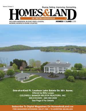 HOMES & LAND Magazine Cover. Vol. 22, Issue 03, Page 6.