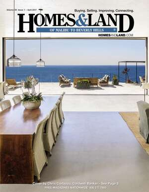 HOMES & LAND Magazine Cover. Vol. 38, Issue 01, Page 3.
