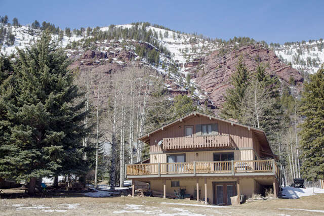 Single Family for Sale at 122 Chair Mountain Drive Redstone, Colorado 81623 United States