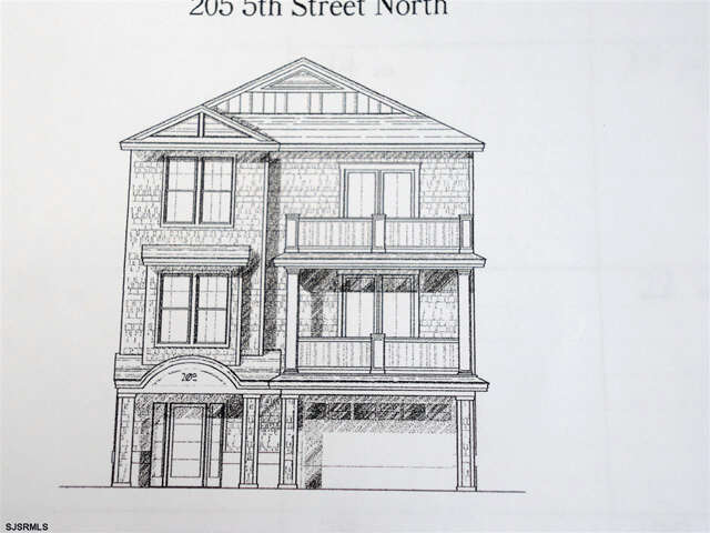 Single Family for Sale at 205 N 5th Street Brigantine, New Jersey 08203 United States