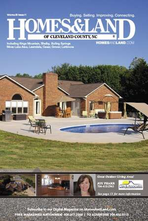 HOMES & LAND Magazine Cover. Vol. 28, Issue 11, Page 13.