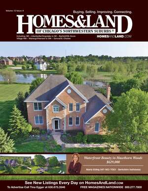 HOMES & LAND Magazine Cover. Vol. 12, Issue 08, Page 20.