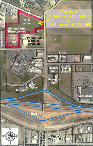 Investment for Sale at Paramount Drive Lot 2r-1&2 Spearfish, South Dakota 57783 United States