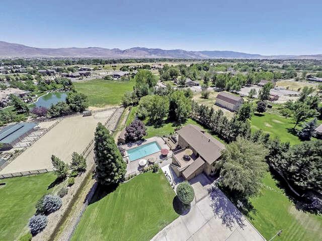 Single Family for Sale at 10600 Thomas Creek Road Reno, Nevada 89511 United States