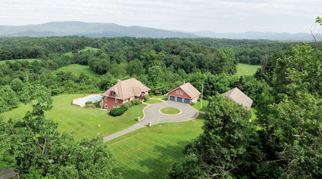 Single Family for Sale at 4500 Hidden Valley Trail Charlottesville, Virginia 22903 United States