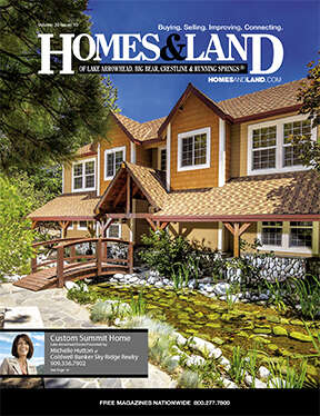 HOMES & LAND Magazine Cover. Vol. 33, Issue 10, Page 19.