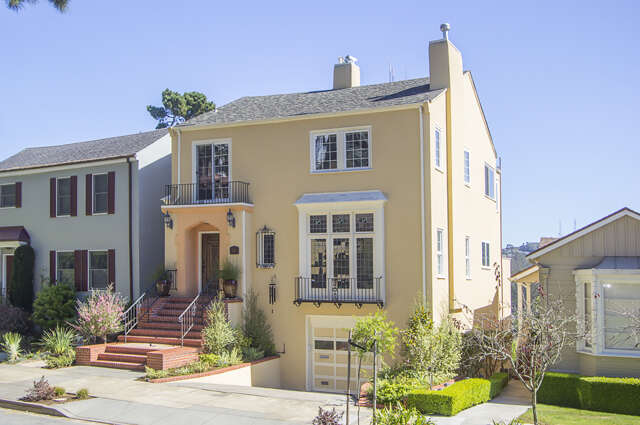 Single Family for Sale at 344 Pacheco St San Francisco, California 94116 United States