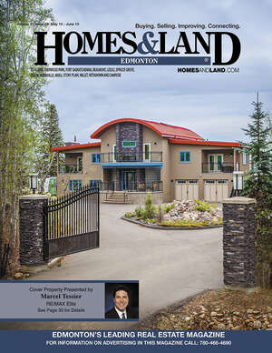 HOMES & LAND Magazine Cover. Vol. 15, Issue 09, Page 35.